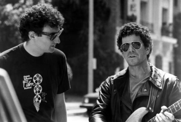 Allan Arkush y Lou Reed a punto de volverse locos