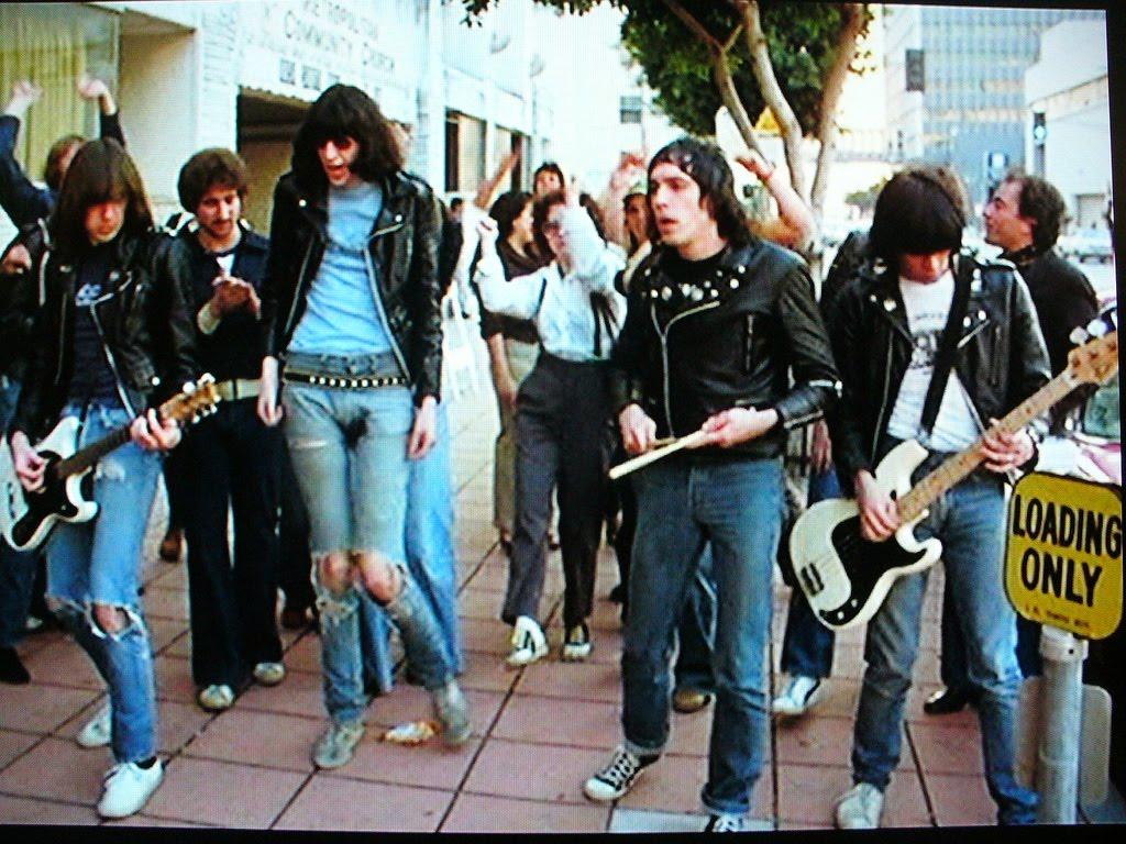 Ramones walking