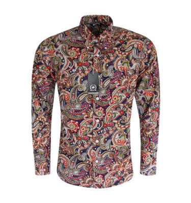CAMISA RELCO SPOTTED PAISLEY