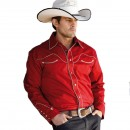 CAMISA WESTERN CHICO STAR&STRIPES JACK RED