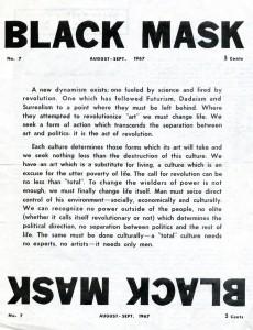Black Mask num. 1