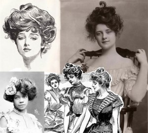 Gibson-girls-style