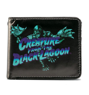 CARTERA BLUE CREATURE FROM THE BLACK LAGOON BILLFOLD WALLET