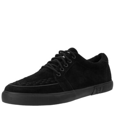 T.U.K BLACK SUEDE NO-RING VLK SNEAKER
