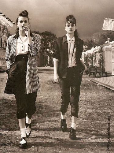 Creepers y Teddy Girls