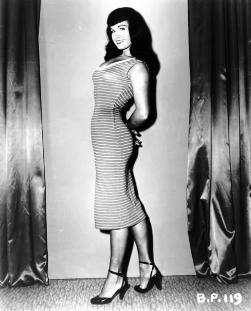 Bettie Page, un referente esencial para la silueta de los 50