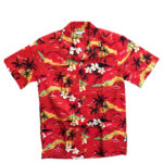 CAMISA HAWAIANA WINNIE FASHION A HUNDRED SUNSETS