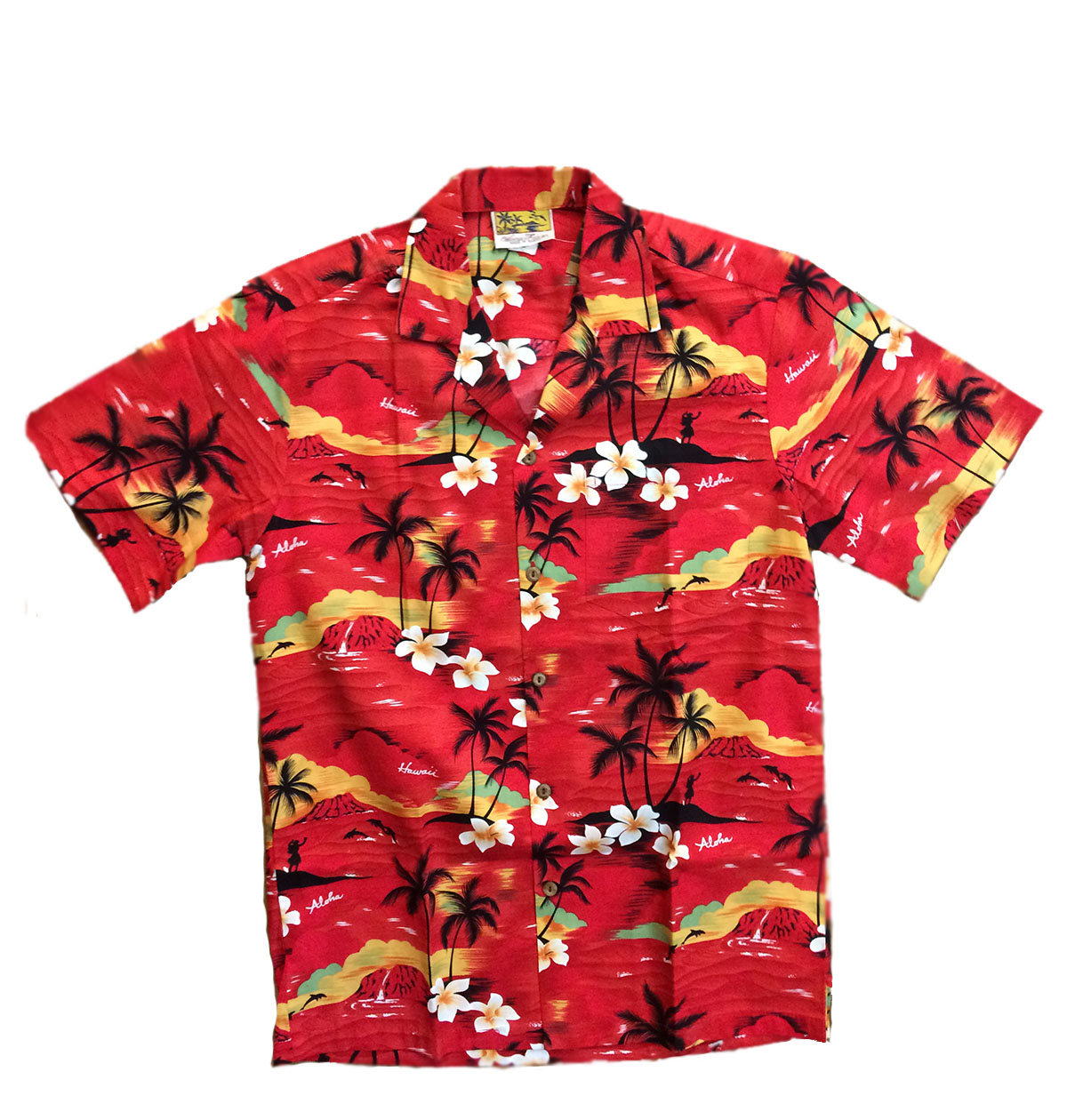 26e2ed1a3 CAMISA HAWAIANA WINNIE FASHION A HUNDRED SUNSETS