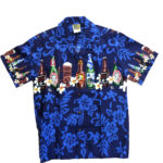 CAMISA HAWAIANA WINNIE FASHION BEER BOTTLESS
