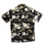 CAMISA HAWAIANA WINNIE FASHION ALOHA ORCHID BLACK