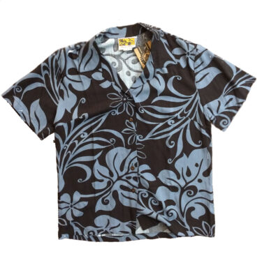CAMISA HAWAIANA CHICA WINNIE FASHION TORTLE FRONDS