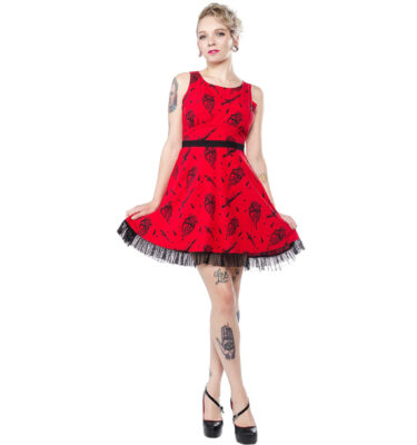 VESTIDO SOURPUSS SOURPUSS FATALLY YOURS DRESS