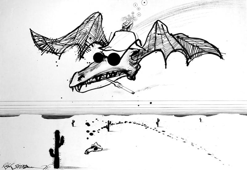 Espíritu Gonzo, por Ralph Steadman
