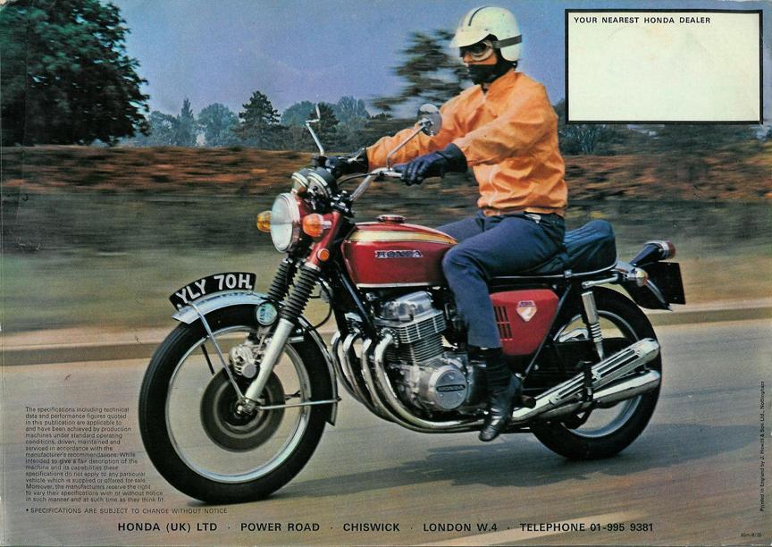 Honda CB750, 1969