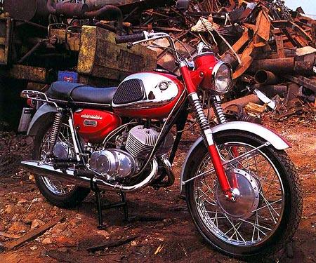 Suzuki T20 Super Six, 1966