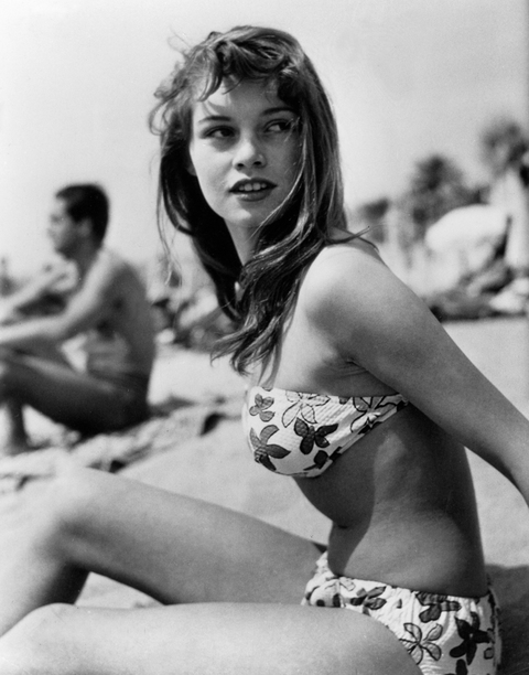 Brigitte Bardot, Cannes 1953
