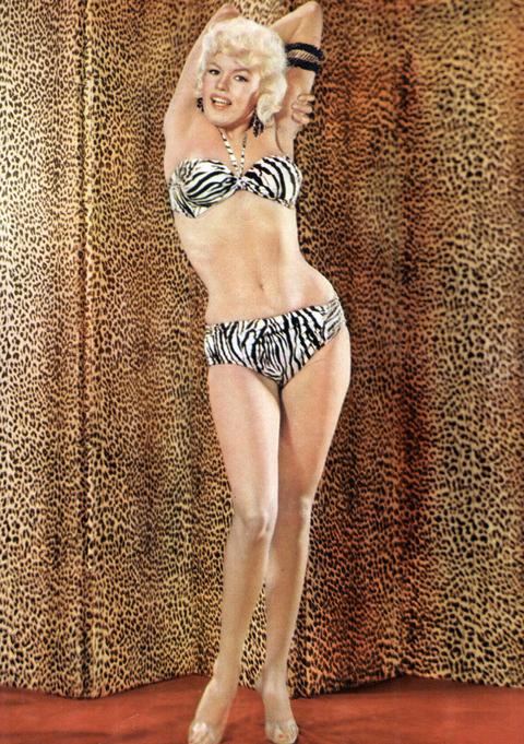 Jane Mansfield, 1955