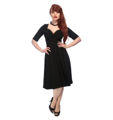 VESTIDO COLLECTIF MAINLINE TRIXIE DOLL BLACK