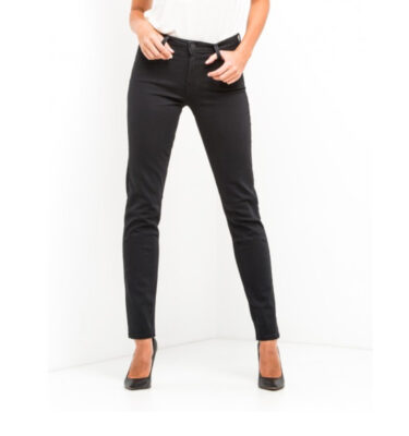 VAQUEROS CHICA LEE ELLY HIGH WAIST SLIM BLACK