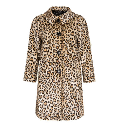 ABRIGO KING LOUIE BETTY COAT LEOPARD