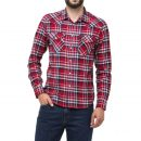 CAMISA LEE RIDER SHIRT IN RED BLUE RUNNER