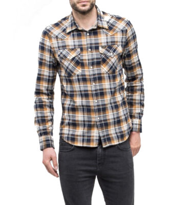 CAMISA LEE WESTERN SHIRT IN DIJON