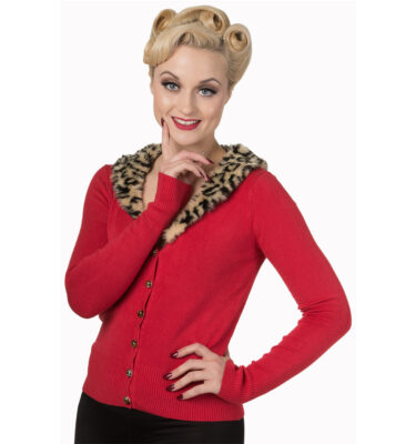 CARDIGAN DE PUNTO BANNED SWEET NOTHING RED