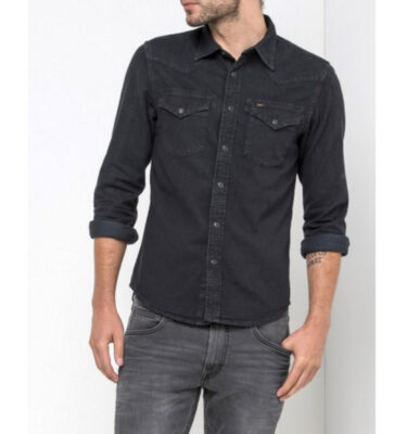 CAMISA LEE WESTERN SHIRT IN BLACK
