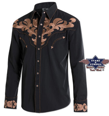 CAMISA WESTERN CHICO STAR&STRIPES JACK HARVEY