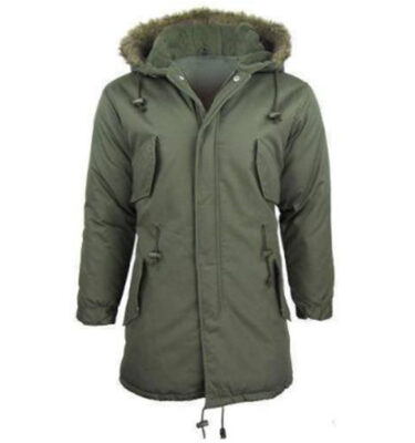 PARKA RELCO FISHTAIL TRADITIONAL GREEN