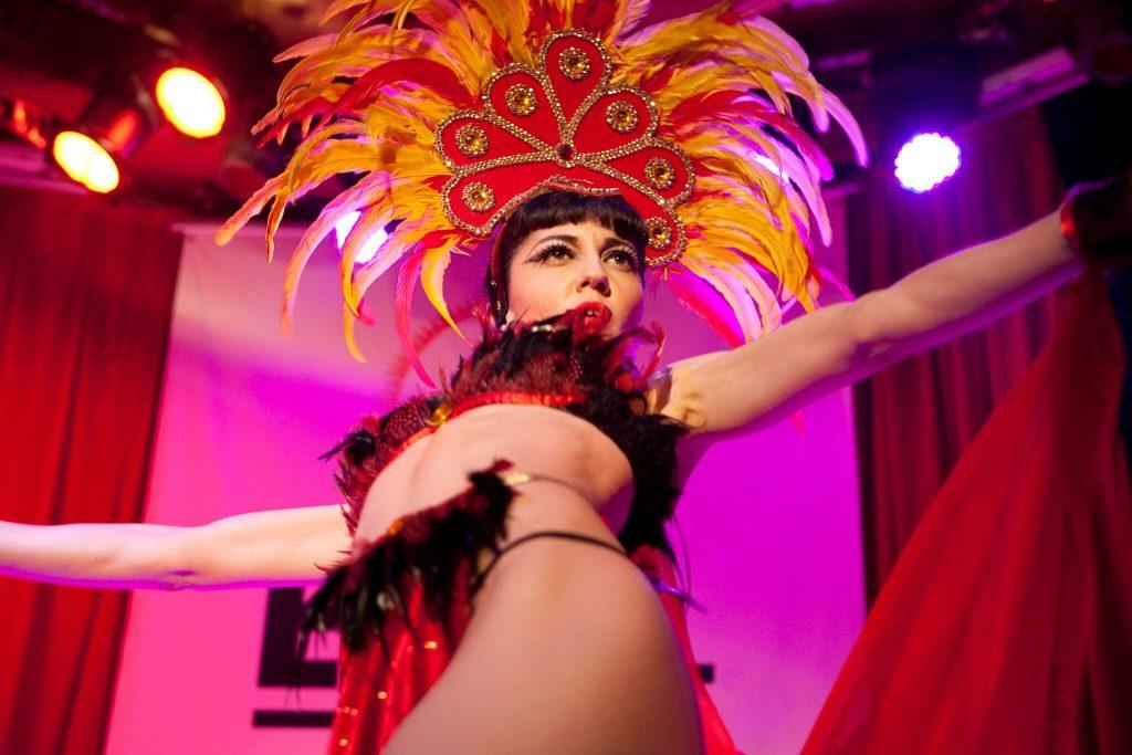 Evil Eva, pionera del burlesque en España