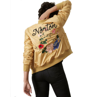 CAZADORA NORTON PATTY JACKET DORADA