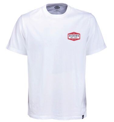 CAMISETA DICKIES PLAINFIELD T-SHIRT IN WHITE