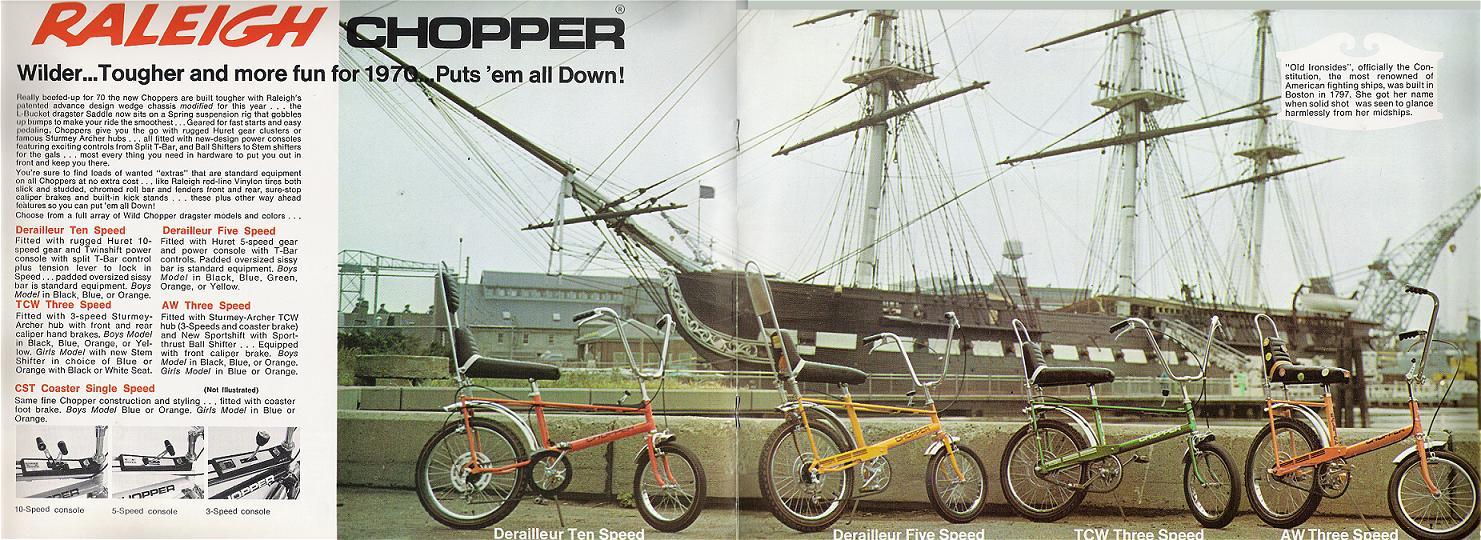 Chopper, 1970