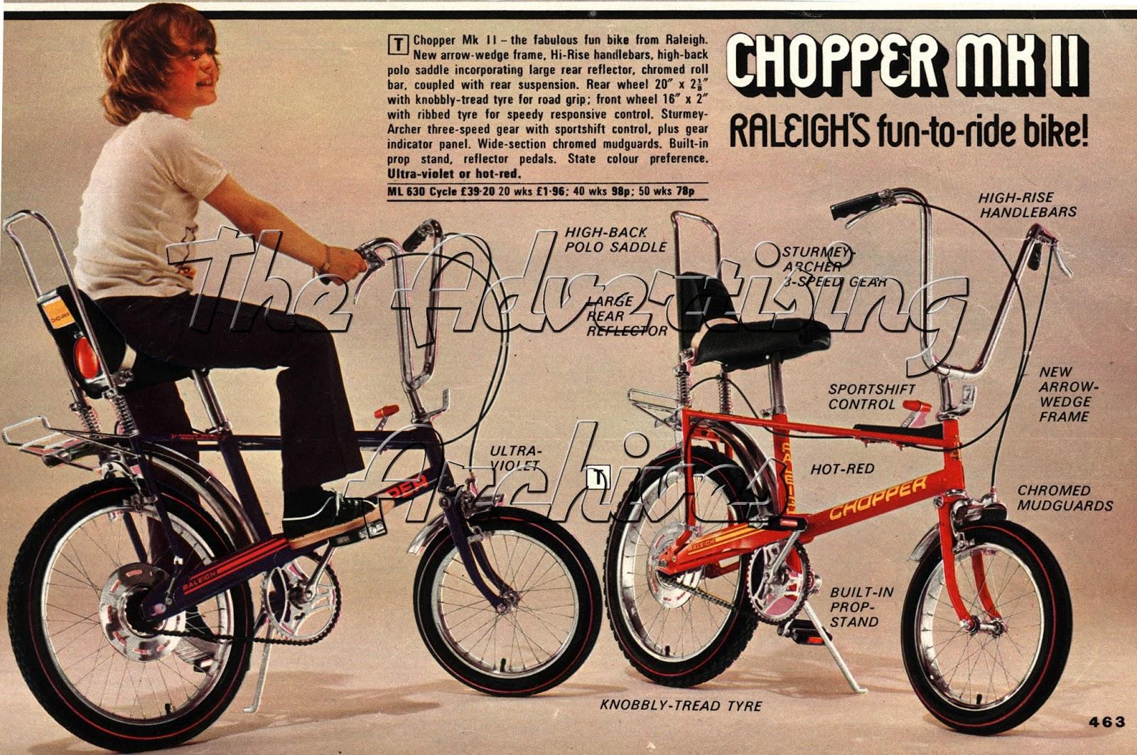 Chopper Mk II con 5 velocidades