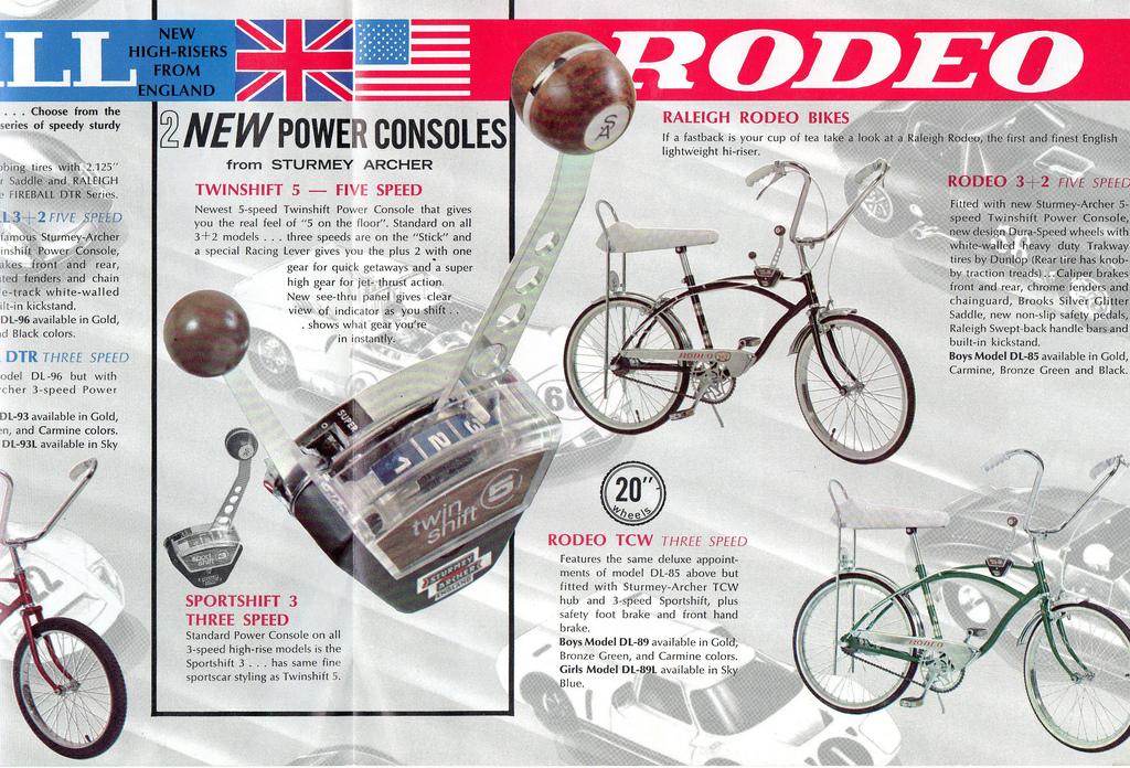 Bicicleta Rodeo, la antecesora de Chopper