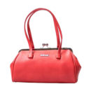 BOLSO ROJO MATE COLLECTIF RETRO KISS LOCK