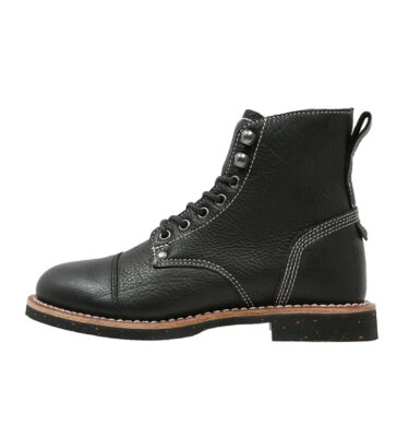BOTAS DICKIES KNOXVILLE LEATHER BLACK