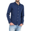 CAMISA LEE SLIM BUTTON DOWN INDIGO FLASH