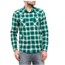 CAMISA LEE WESTERN SHIRT IN EVERGREEN