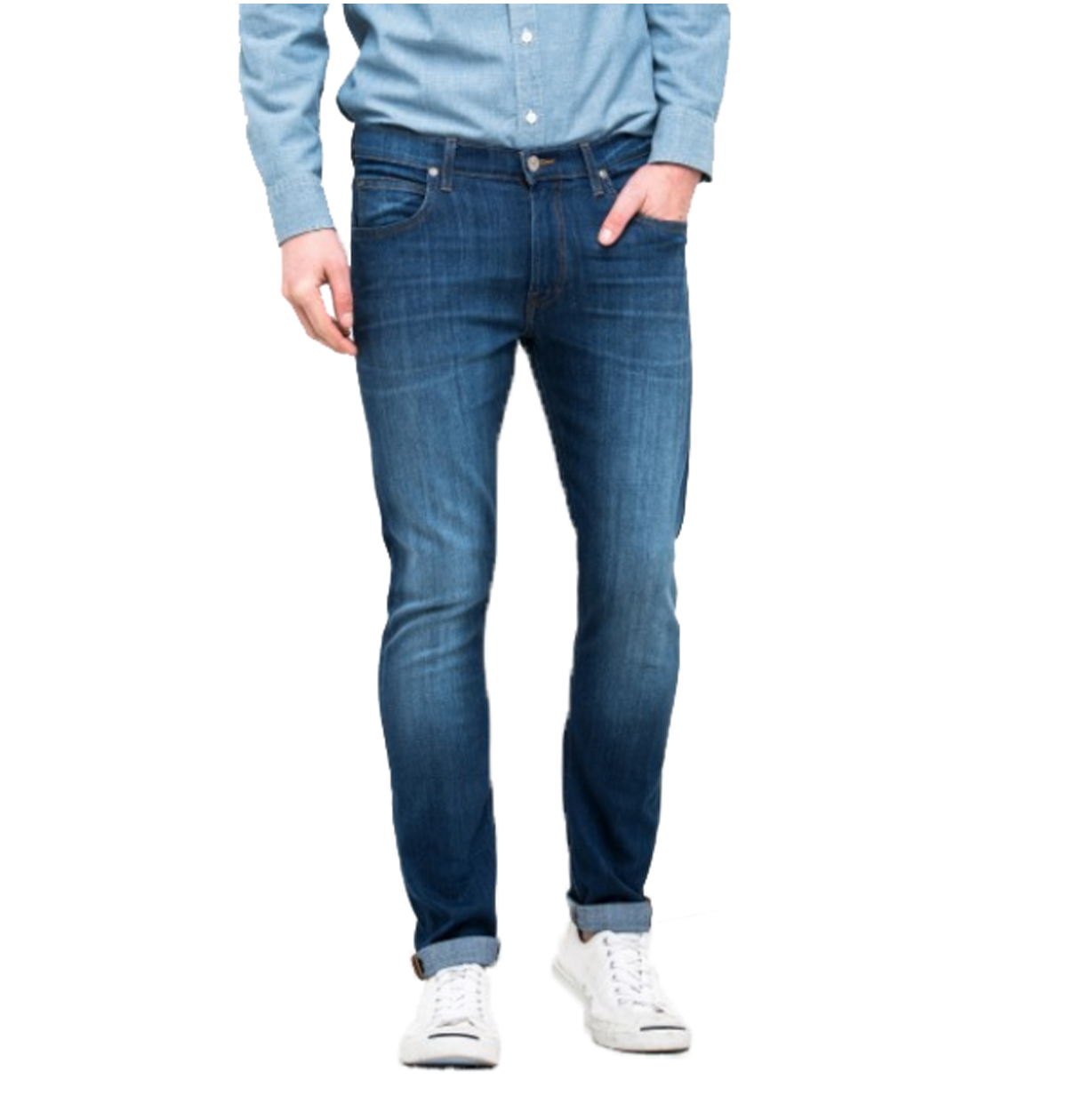 fa6205741c PANTALÓN VAQUERO LEE® LUKE SLIM TAPERED AZUL