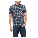 CAMISA LEE® SHORTSLEEVE WESTERN NAVY DROP