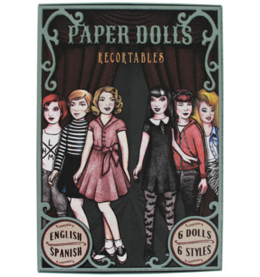 "PAPER DOLLS RECORTABLES URBAN STYLES - ""Little Monster"""