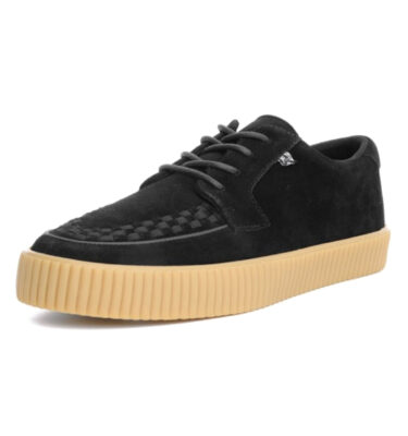 T.U.K. SHOES EZC BLACK SUEDE CREEPER SNEAKER