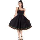 VESTIDO HELL BUNNY MARIANNE DRESS IN BLACK