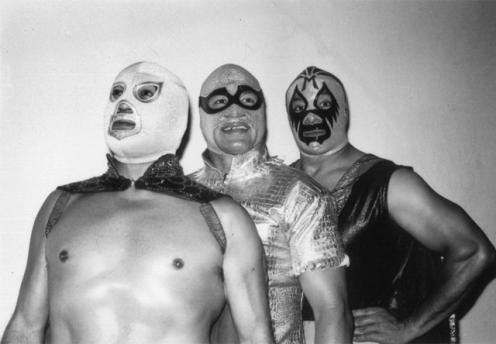 El Santo, El Solitario y Mil Máscaras