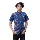 CAMISA RUN & FLY UFO COSMIC SHORT SLEEVE SHIRT