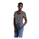 CAMISETA LEVI'S® THE PERFECT V-NECK TEE DANCER STRIPE