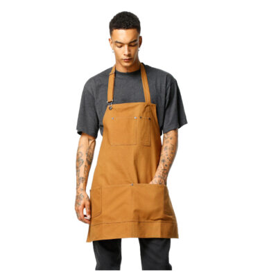 MANDIL DICKIES APRON BROWN DUCK