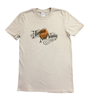 CAMISETA MANGA CORTA NEIL YOUNG - HARVEST